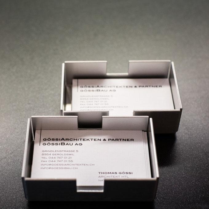 Architekturbüro Visitenkarten